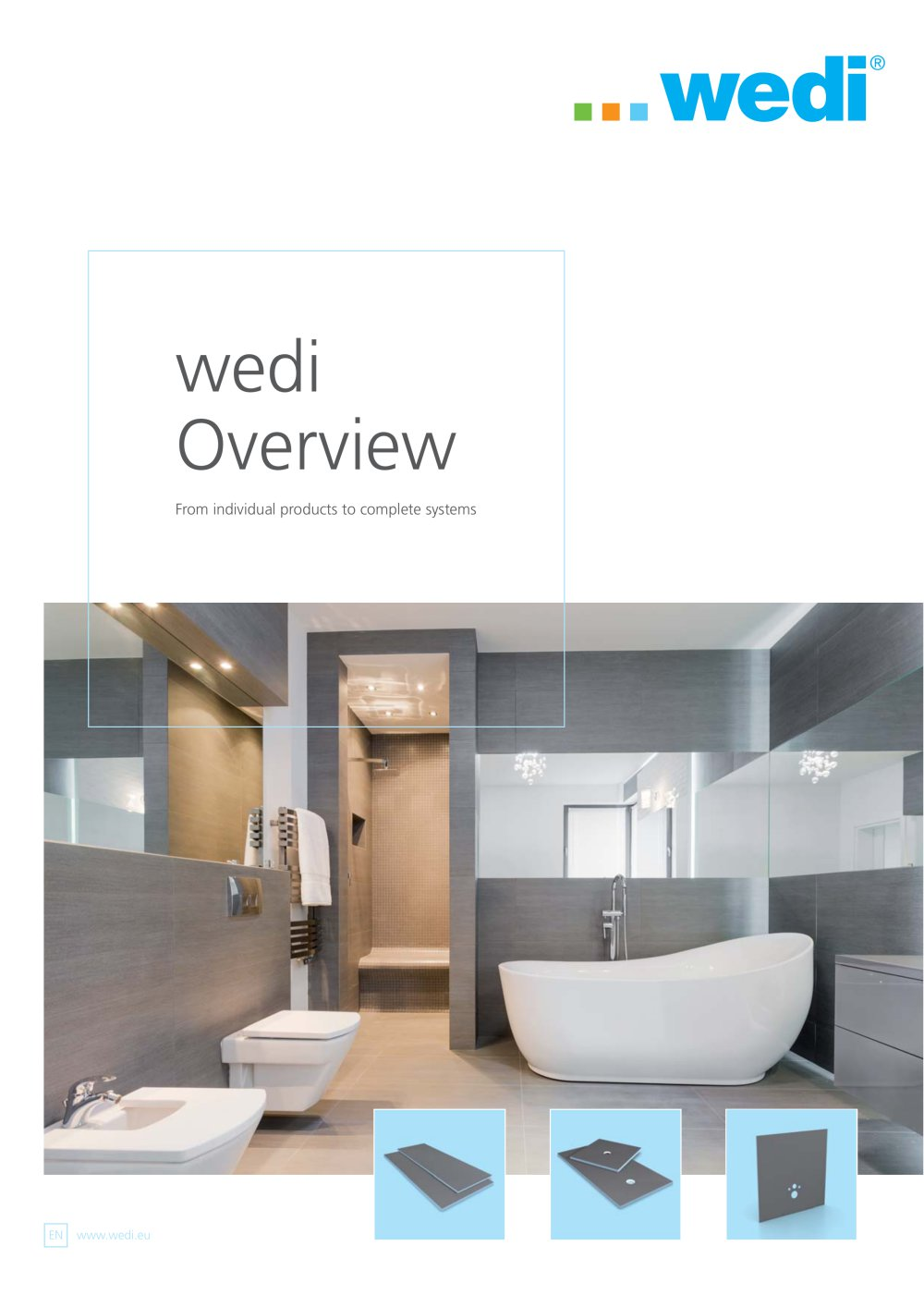 Wedi Emsdetten overview wedi gmbh pdf catalogues documentation brochures