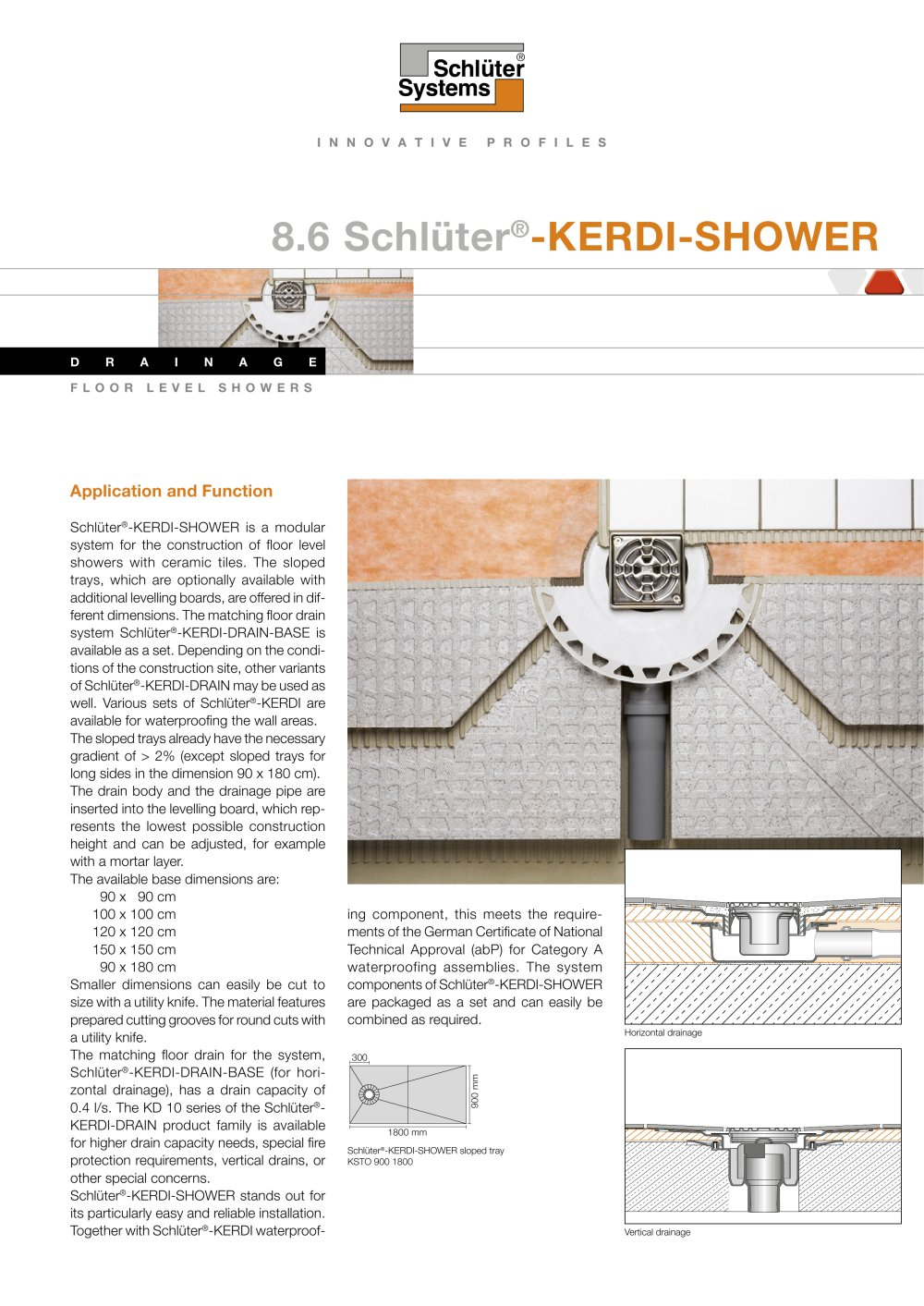 talk contractor tiling kerdi cutting pan shower