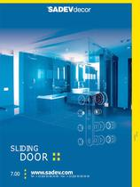 SADEV Decor Sliding doors systems