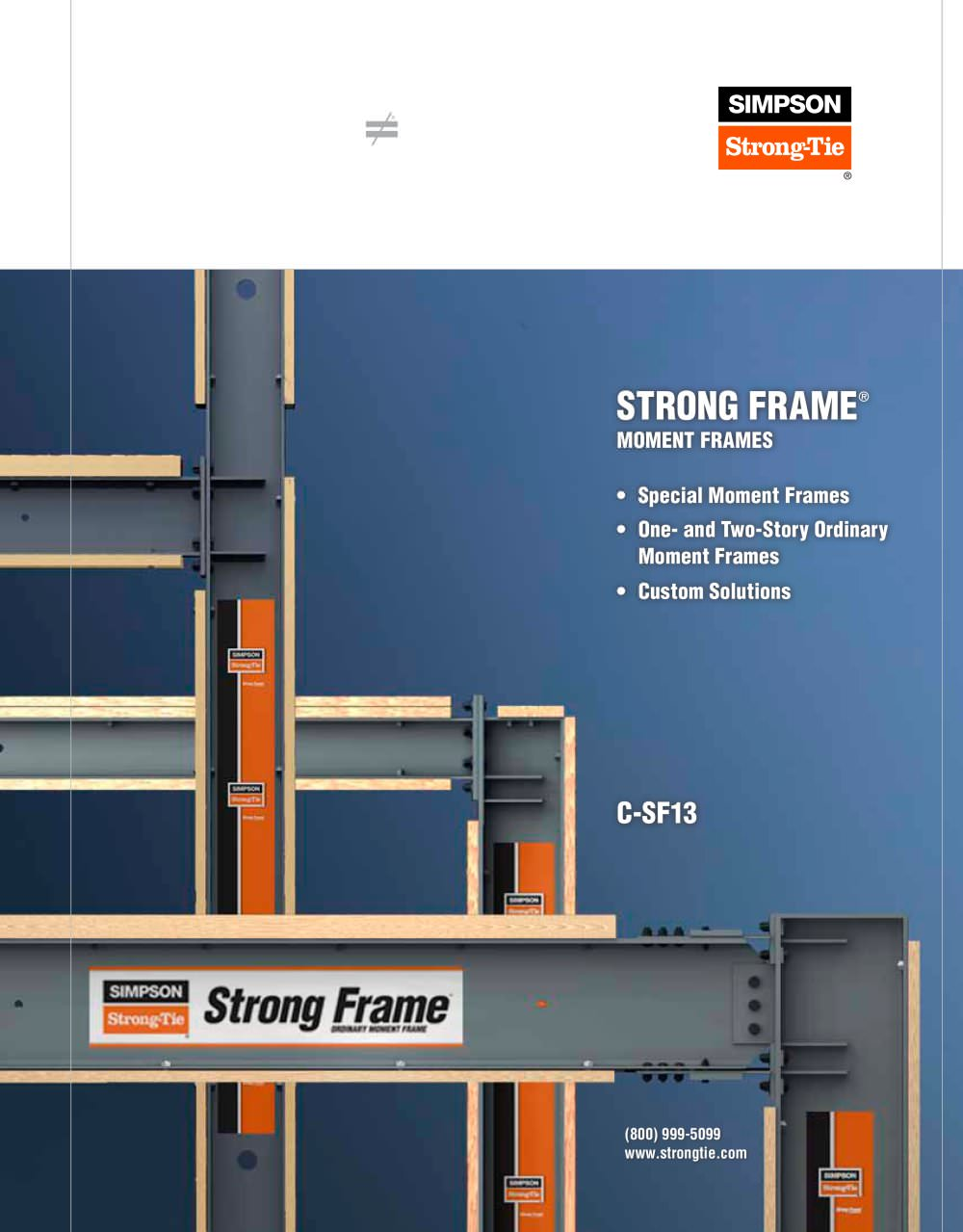 Strong Frame® Moment Frames - SIMPSON Strong-Tie - PDF Catalogues ...