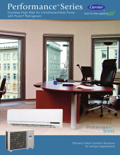 Peformance Series Duct Free Split System High-Wall