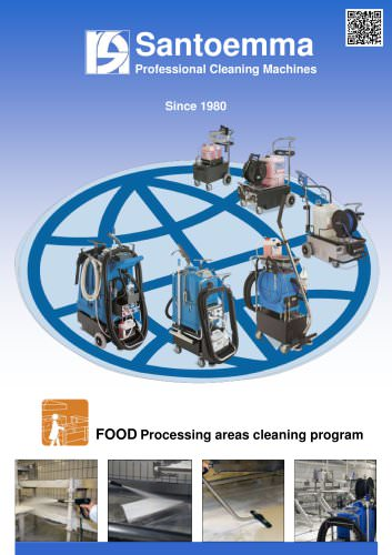 FOOD Processing areas cleaning program - Santoemma - PDF