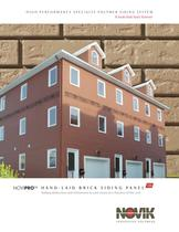 Hand-laid brick