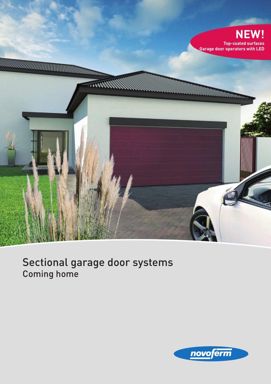 Sectional Garage Door Systems Novoferm Pdf Catalogues