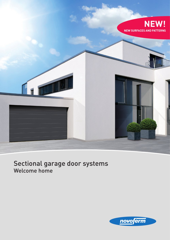 Sectional Garage Door Systems Welcome Home Novoferm Pdf