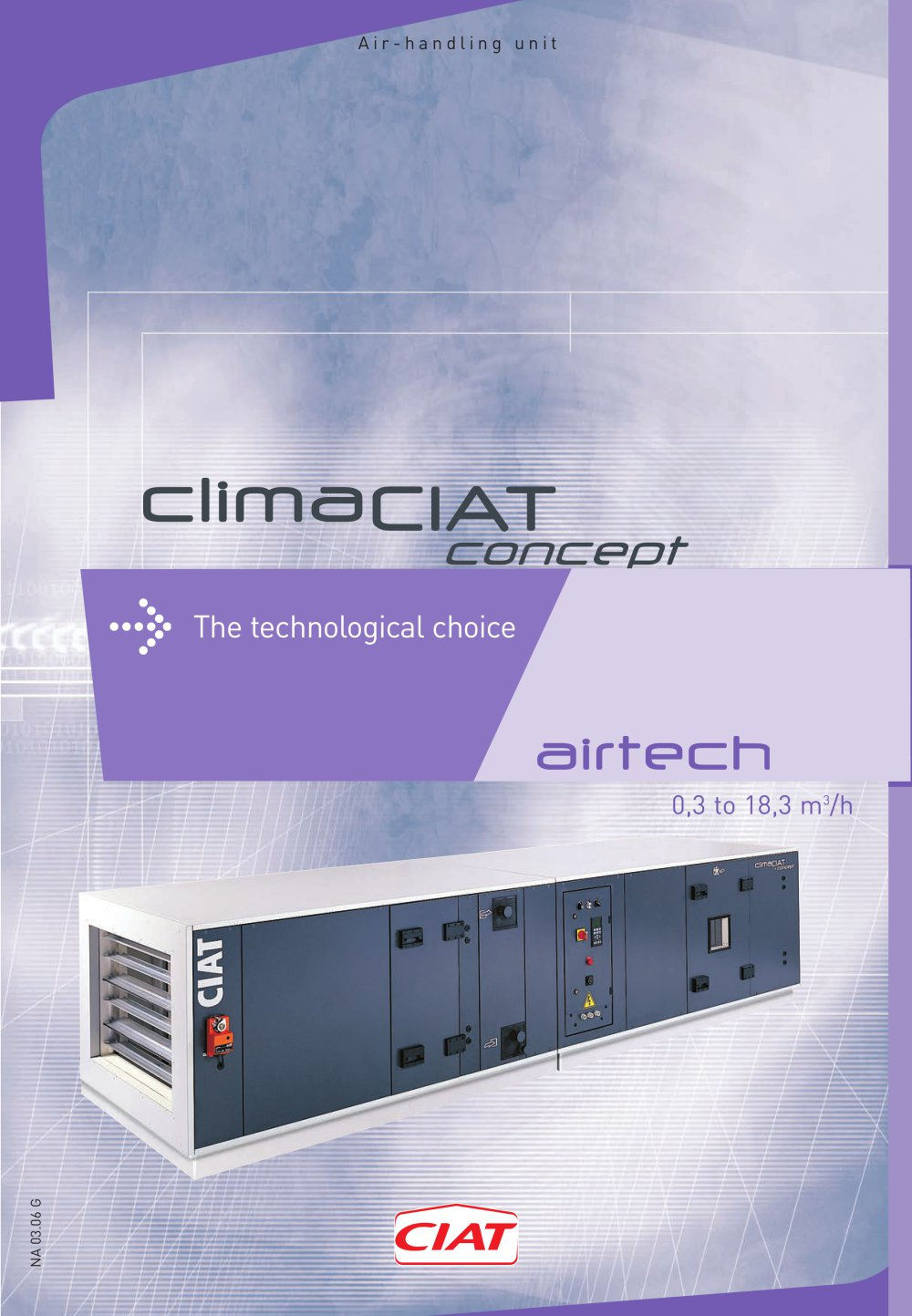 1c5372237b6353 AIRTECH - NA0306G - CIAT - PDF Catalogues   Documentation   Brochures
