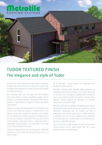 Tudor Textured Finish