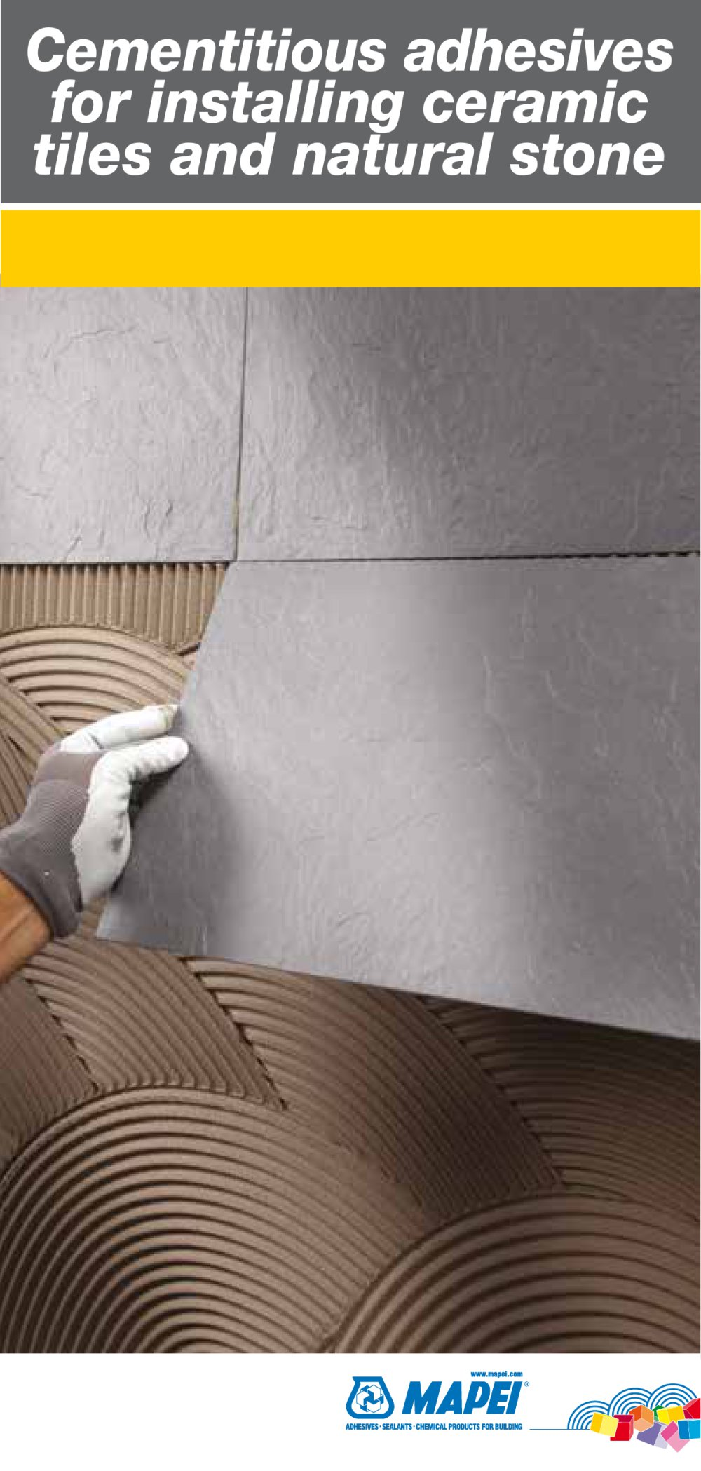 Cementitious adhesives for installing ceramic tiles ad natural stone cementitious adhesives for installing ceramic tiles ad natural stone 1 24 pages dailygadgetfo Choice Image