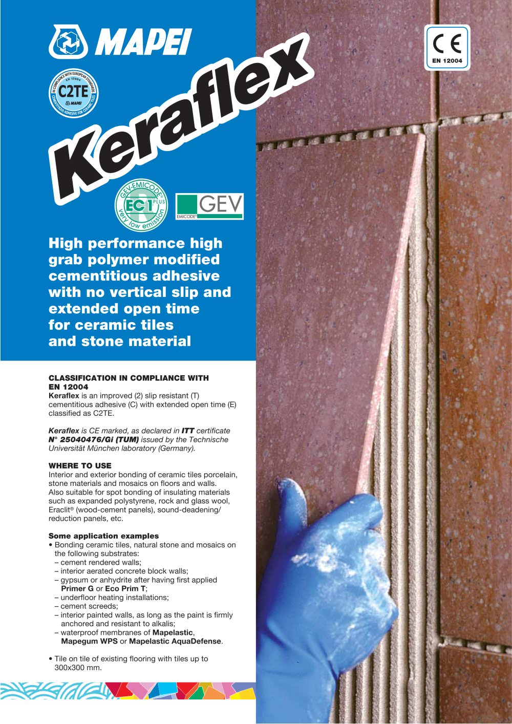 Keraflex mapei pdf catalogues documentation brochures keraflex 1 4 pages dailygadgetfo Gallery