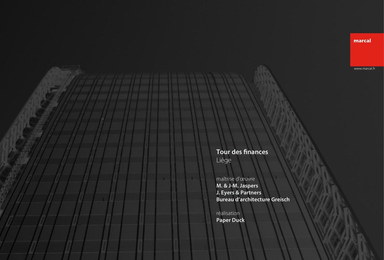 Bureau greisch finance tower liège