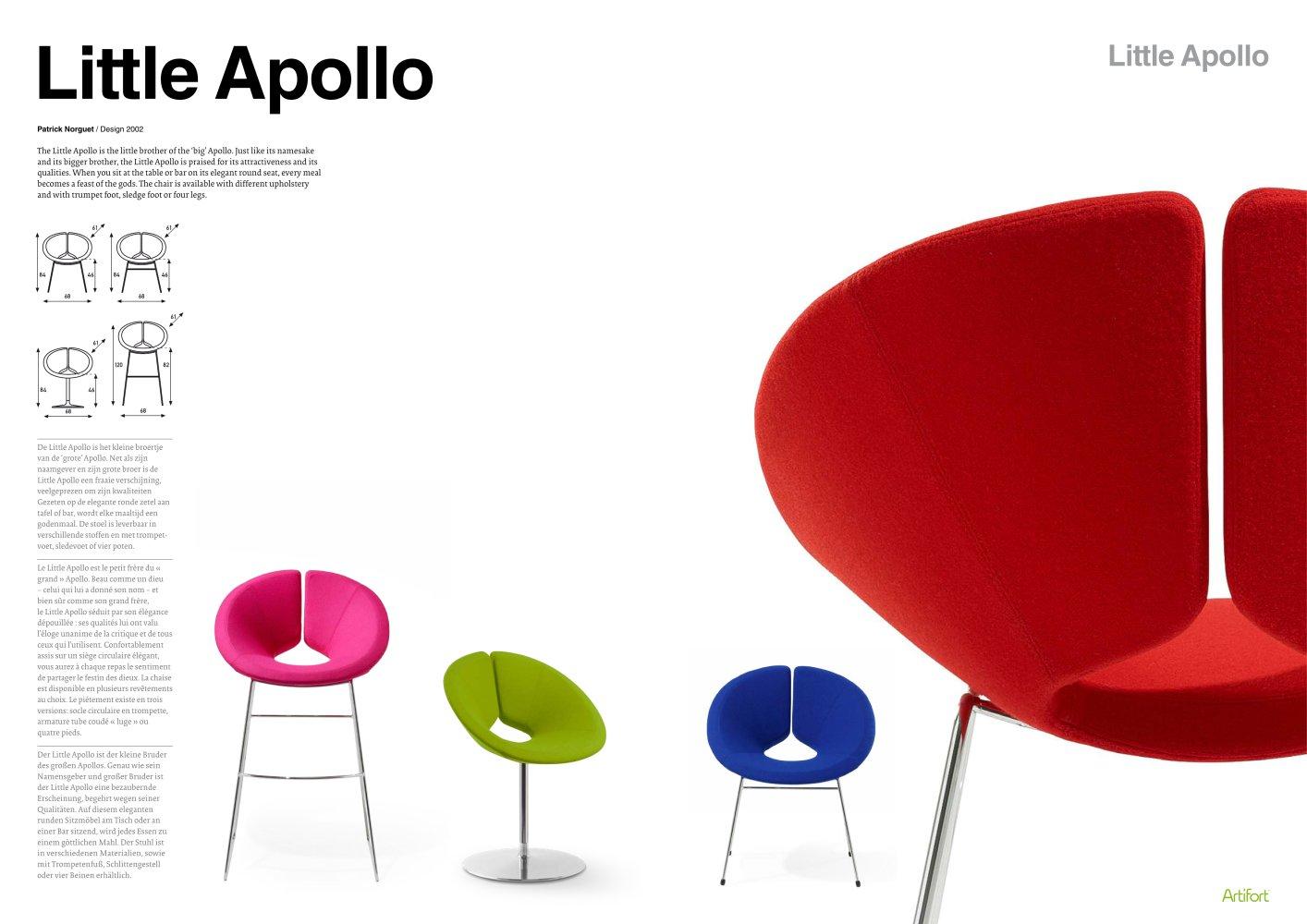 little apollo b artifort pdf catalogues documentation brochures