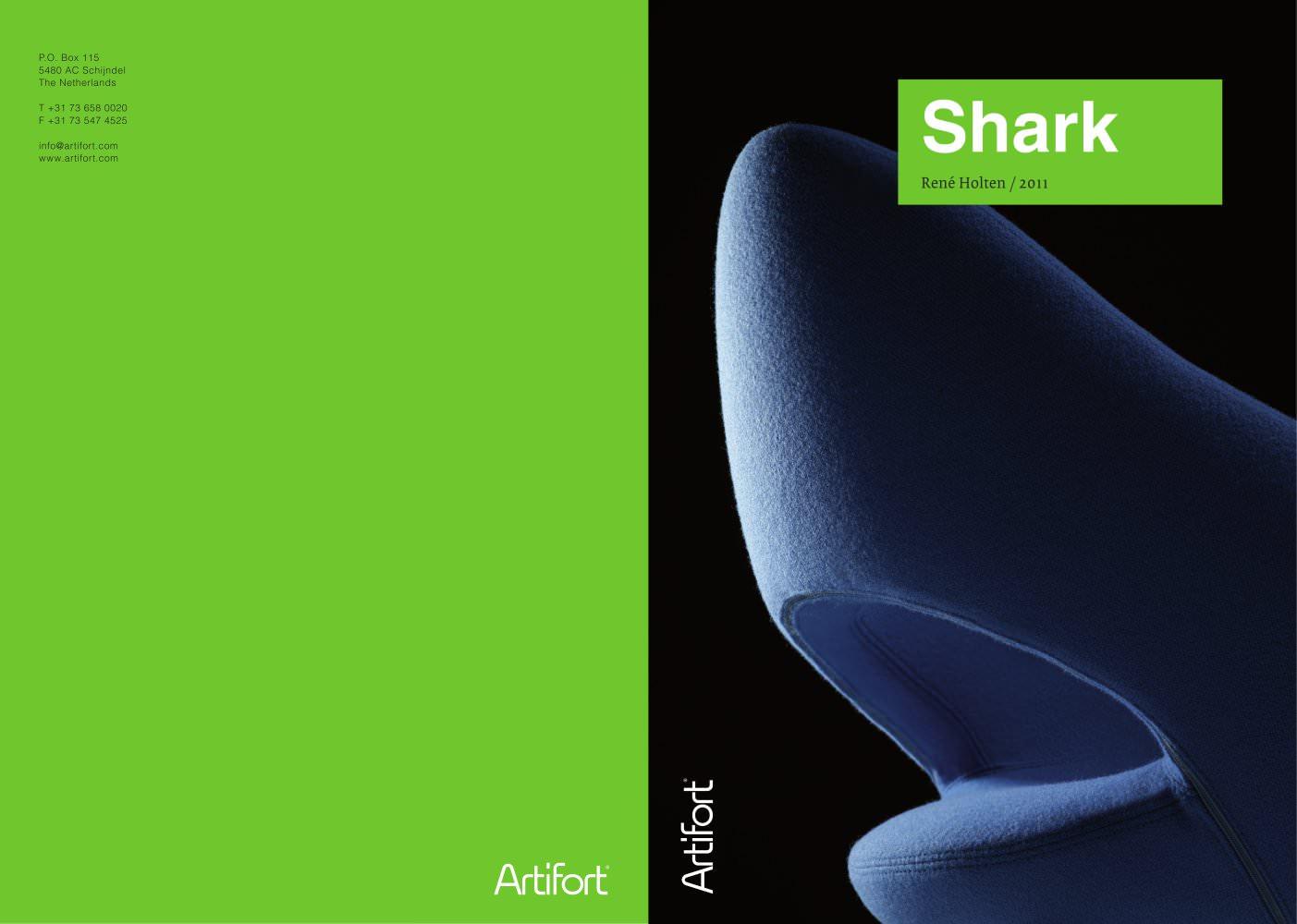 Shark artifort pdf catalogues documentation brochures