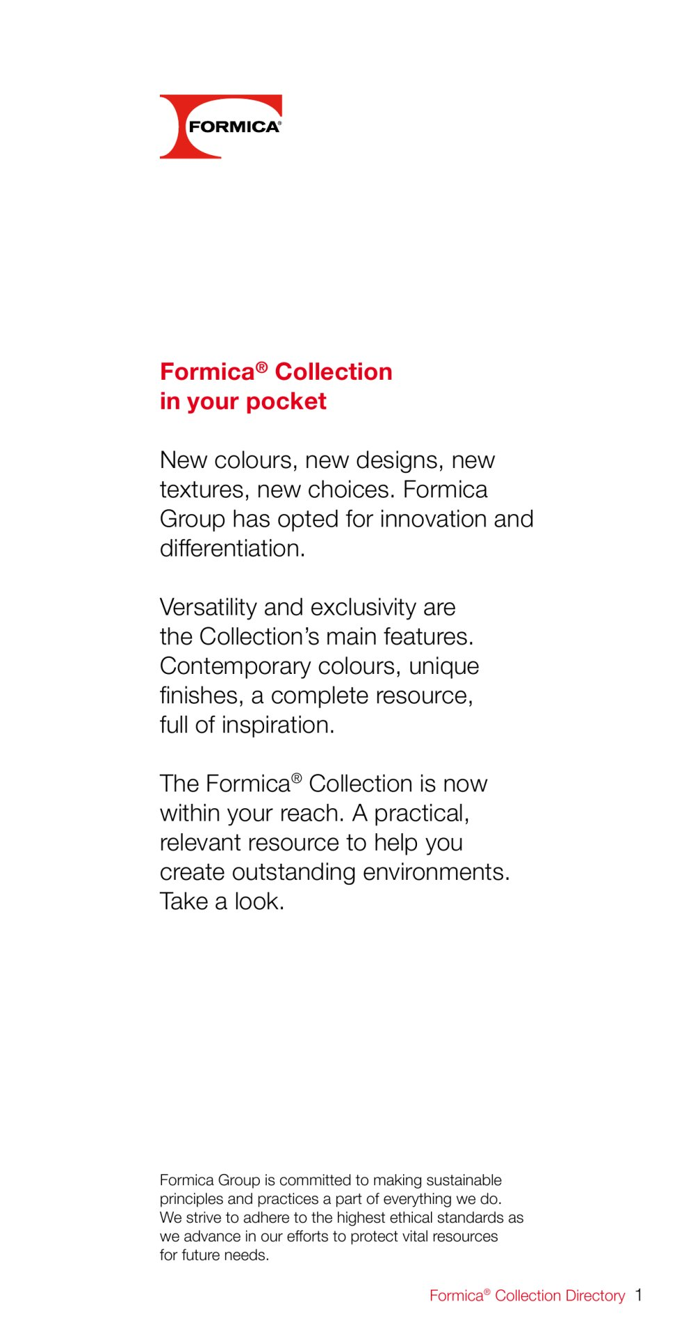 Formica collection directory