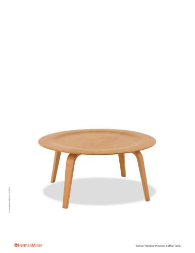 Eames Molded Plywood Coffee Table Product Sheet Herman Miller