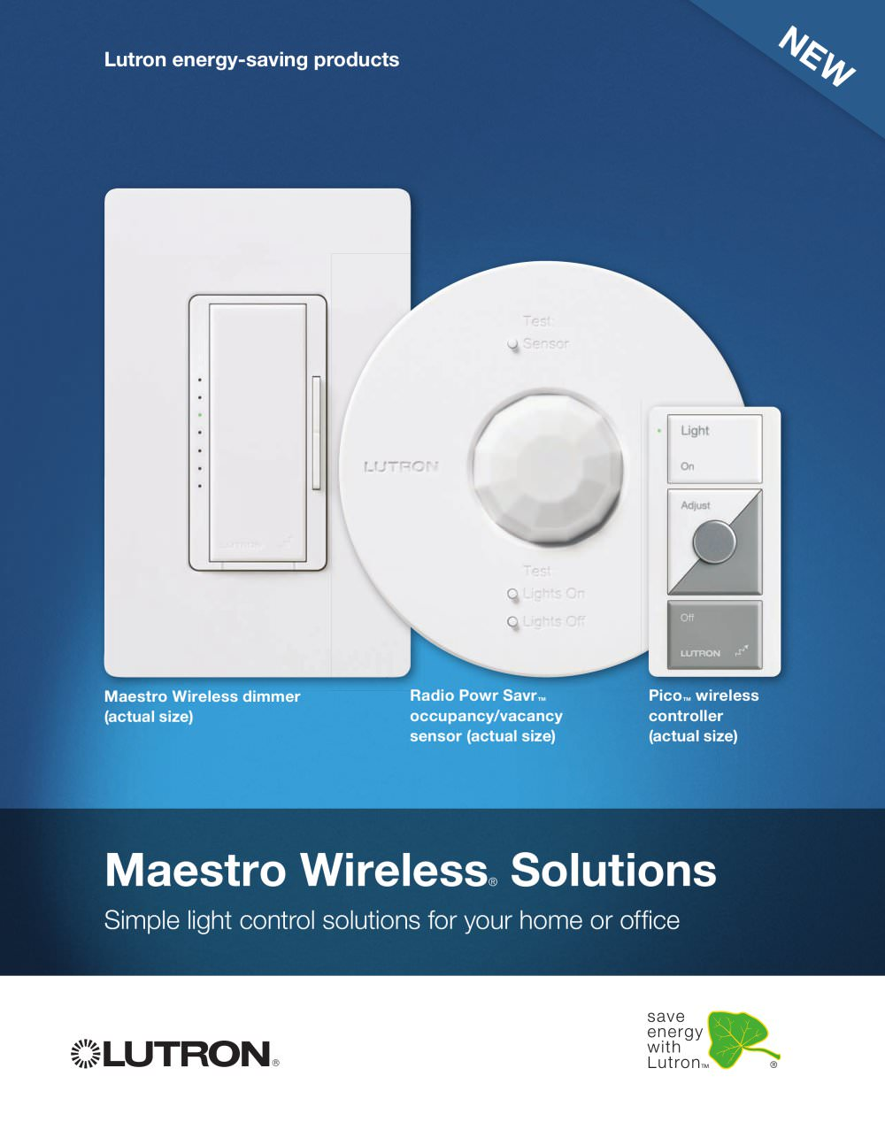 Maestro Wireless Solutions Brochure - LUTRON ELECTRONICS - PDF ...