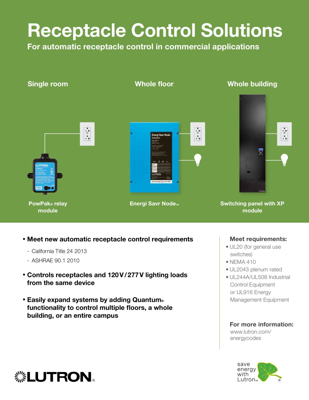 receptacle control solutions brochure 237672_1b receptacle control solutions brochure lutron electronics pdf lutron esn wiring diagram at gsmx.co