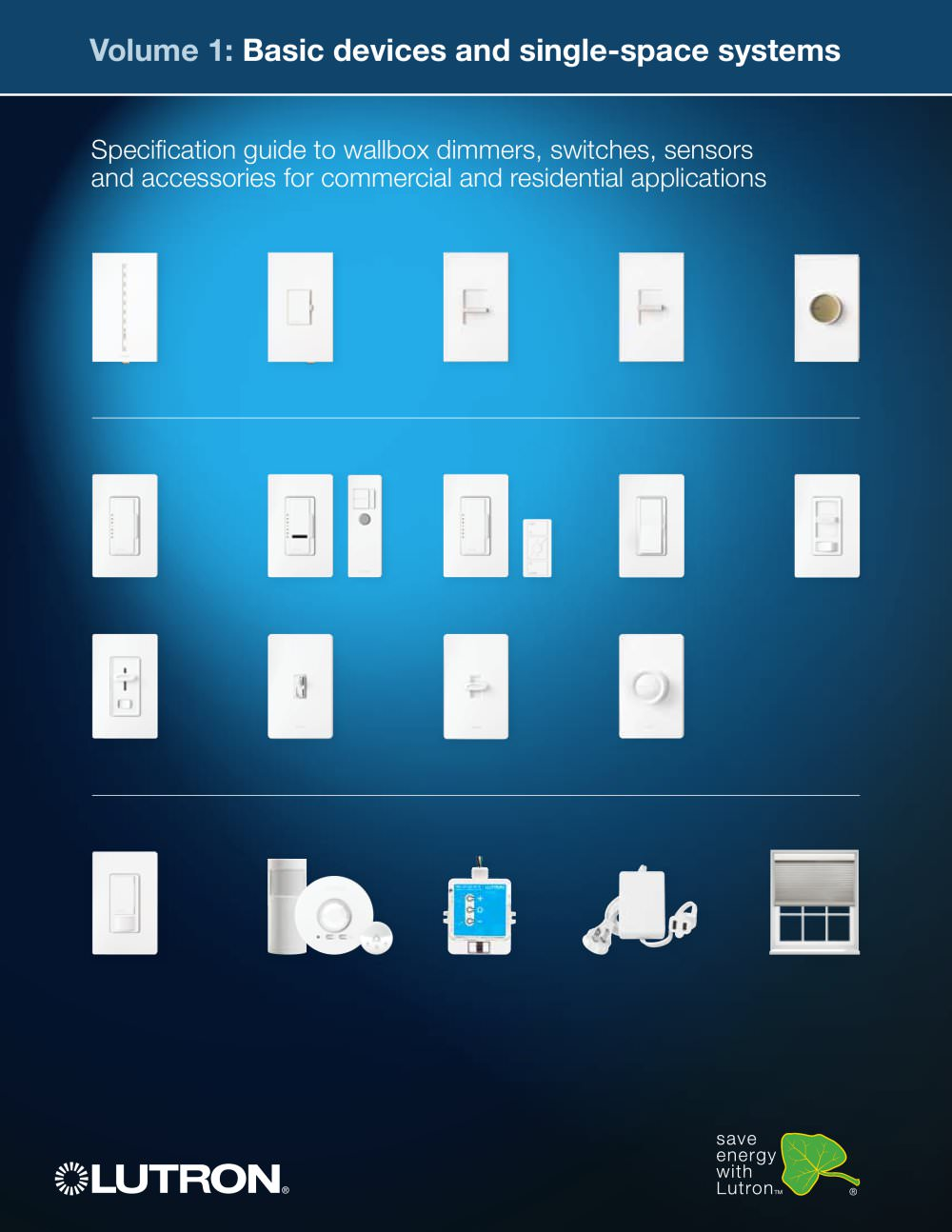 Volume 1 - LUTRON ELECTRONICS - PDF Catalogues | Documentation ...
