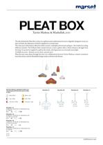 Pleat Box