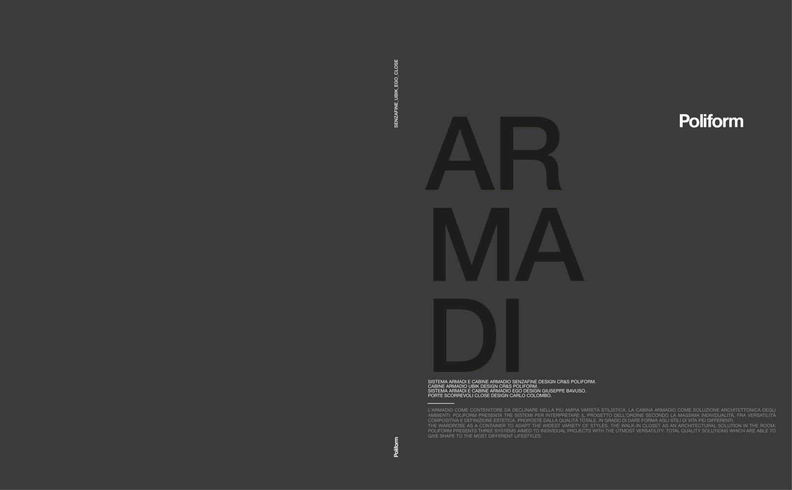 Cabina Armadio Ego Poliform : Wardrobes poliform pdf catalogues documentation brochures
