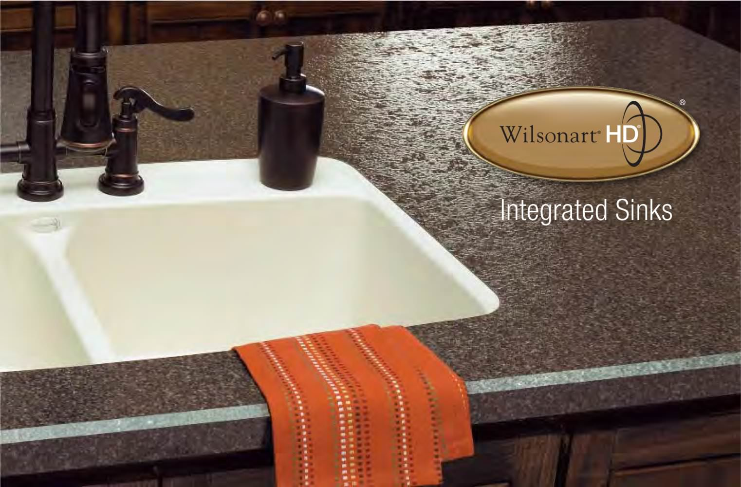 Superior Wilsonart® HD™ Intergrated Sinks Brochure   1 / 5 Pages