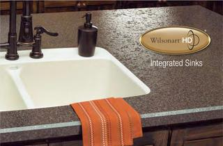 Wilsonart® HD� Intergrated Sinks Brochure