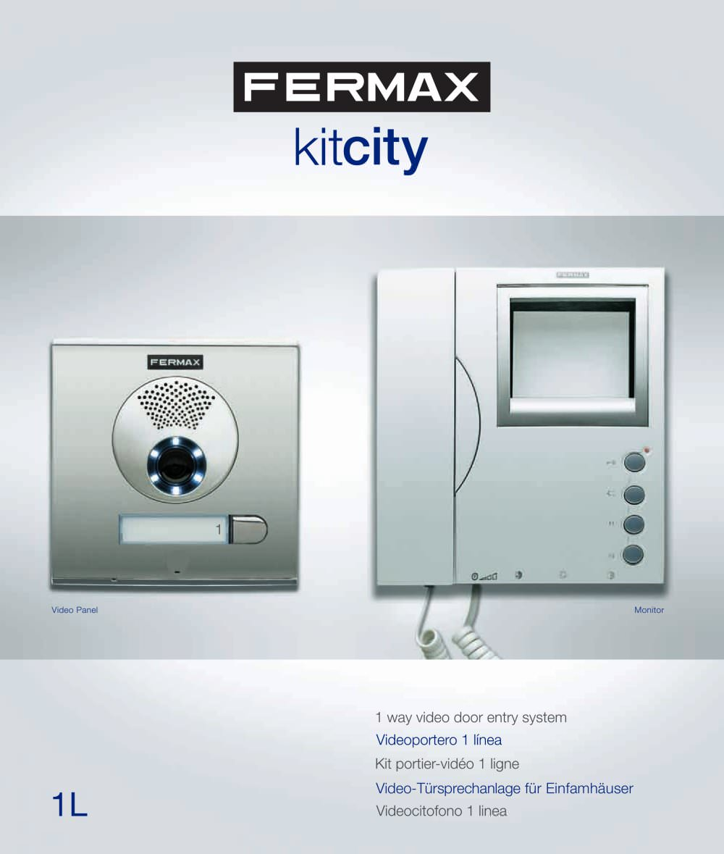 Cityline Kits Catalogue Fermax Electrnica Pdf Catalogues