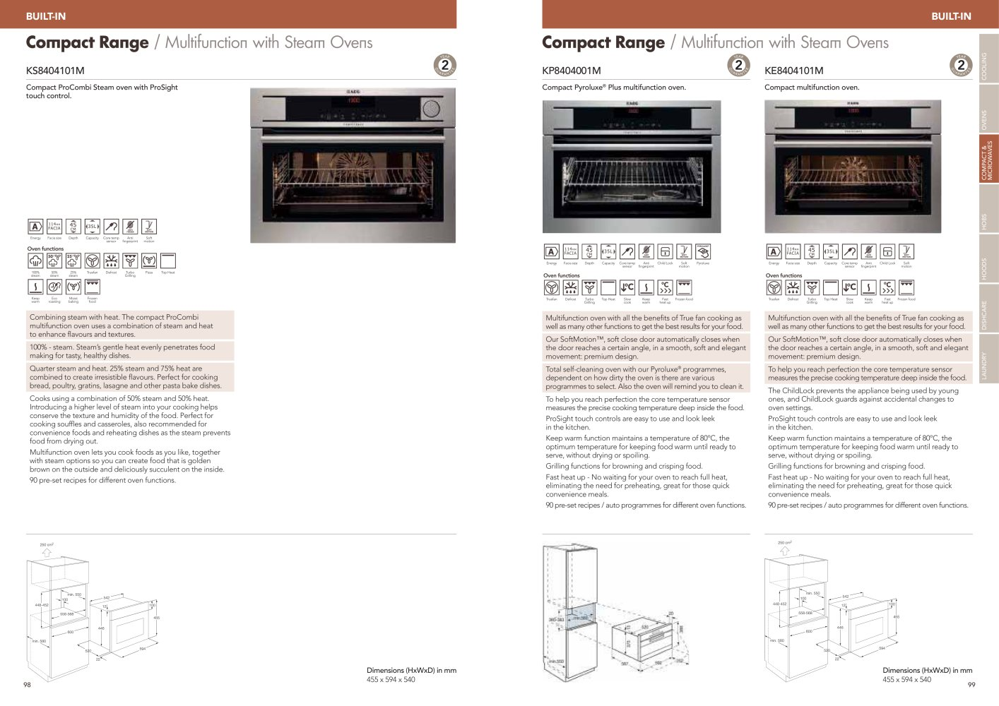 Kitchen Retail Edition 4 2012 - AEG - Page n° 50 - PDF Catalogues
