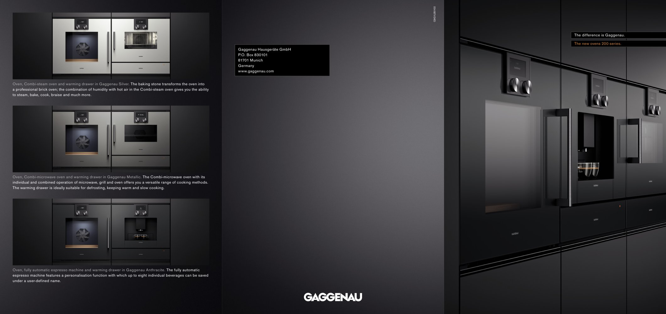 The New Ovens 200 Series Gaggenau Pdf Catalogs Doentation Bosch 800 Hmd8451uc 24 Microwave Drawer From