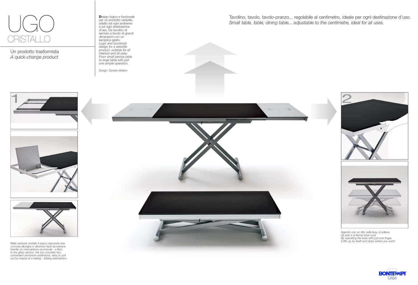 TAVOLI:IGO CRISTALLO - BONTEMPI CASA - PDF Catalogues ...