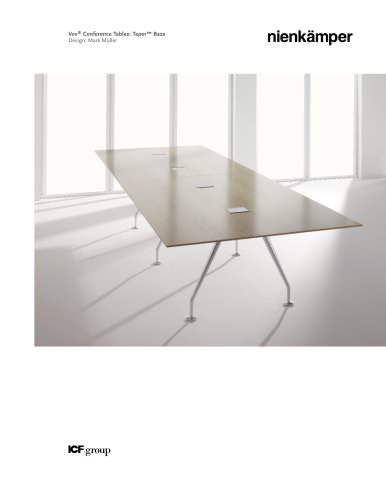 Vox Conference Duo Tri Quad Base Nienkamper PDF Catalogues - Vox conference table