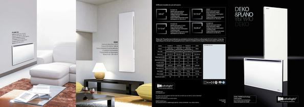 Catalogue 2010 Radialight PLANO and DEKO electric radiators