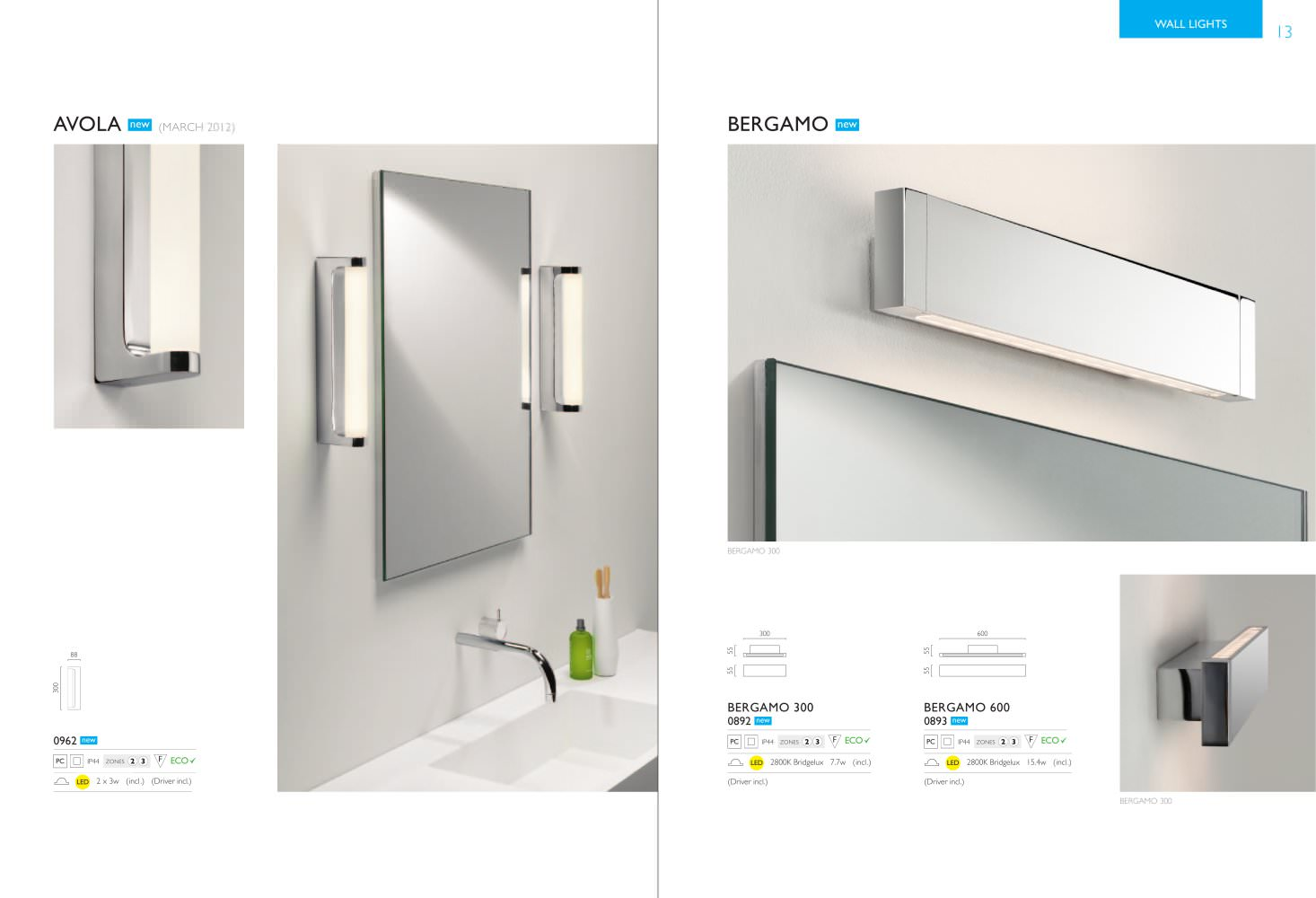 Astro Lighting 2012 - bathroom - astro - Page n° 5 - PDF ...