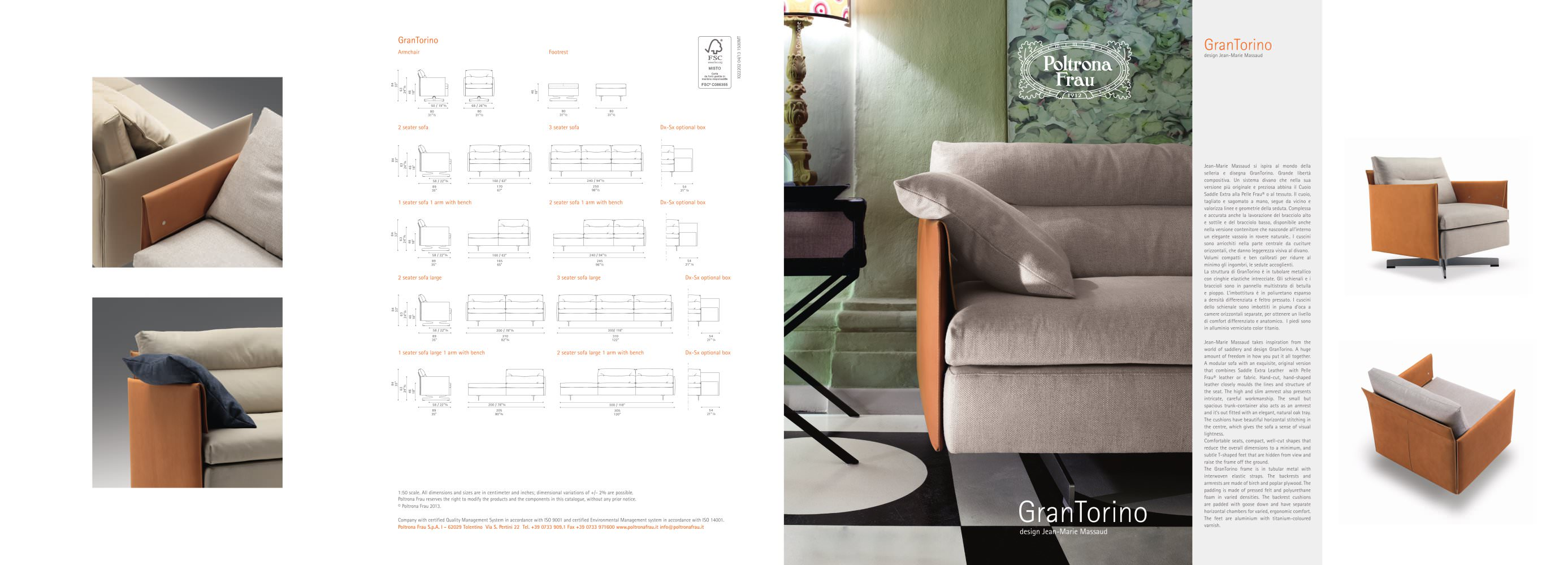 GranTorino - POLTRONA FRAU - PDF Catalogues | Documentation | Brochures