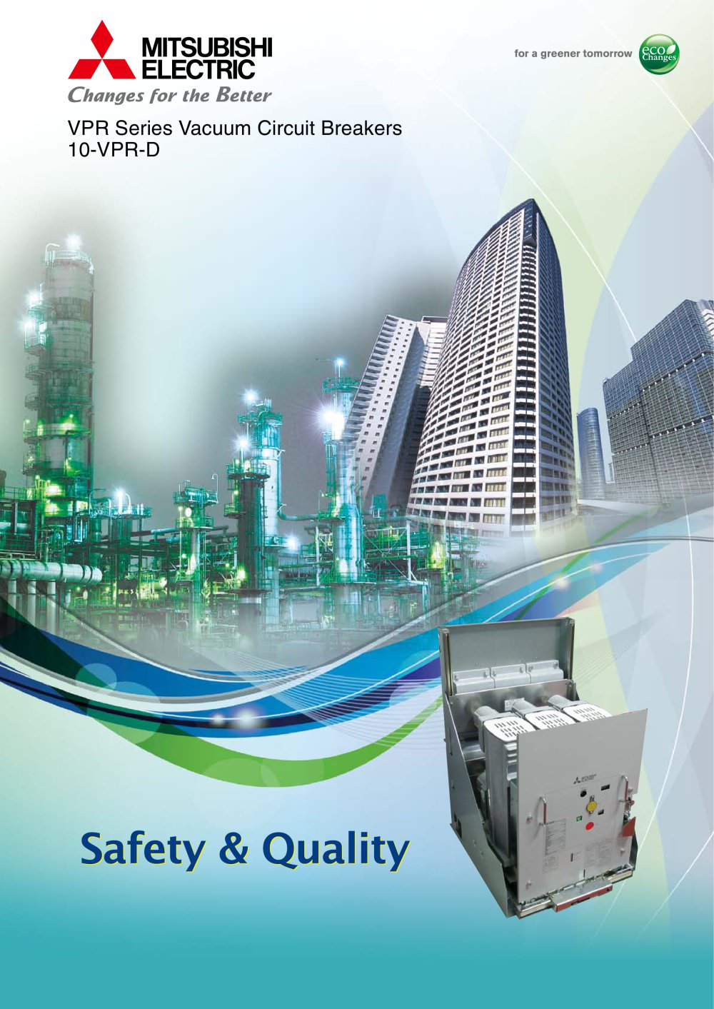 36 72 12 24kv Vacuum Circuit Breakers Type Vpr Mitsubishi Fuse Electronic Breaker Best Engineering Projects 23 Pages