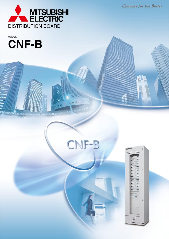 Distribution Board Model CNF-B - MITSUBISHI ELECTRIC - PDF ...