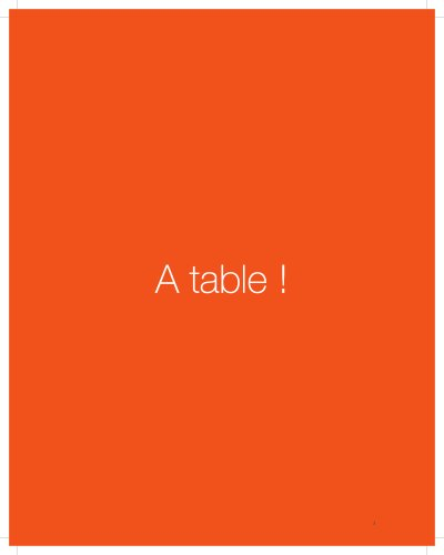 A Table !