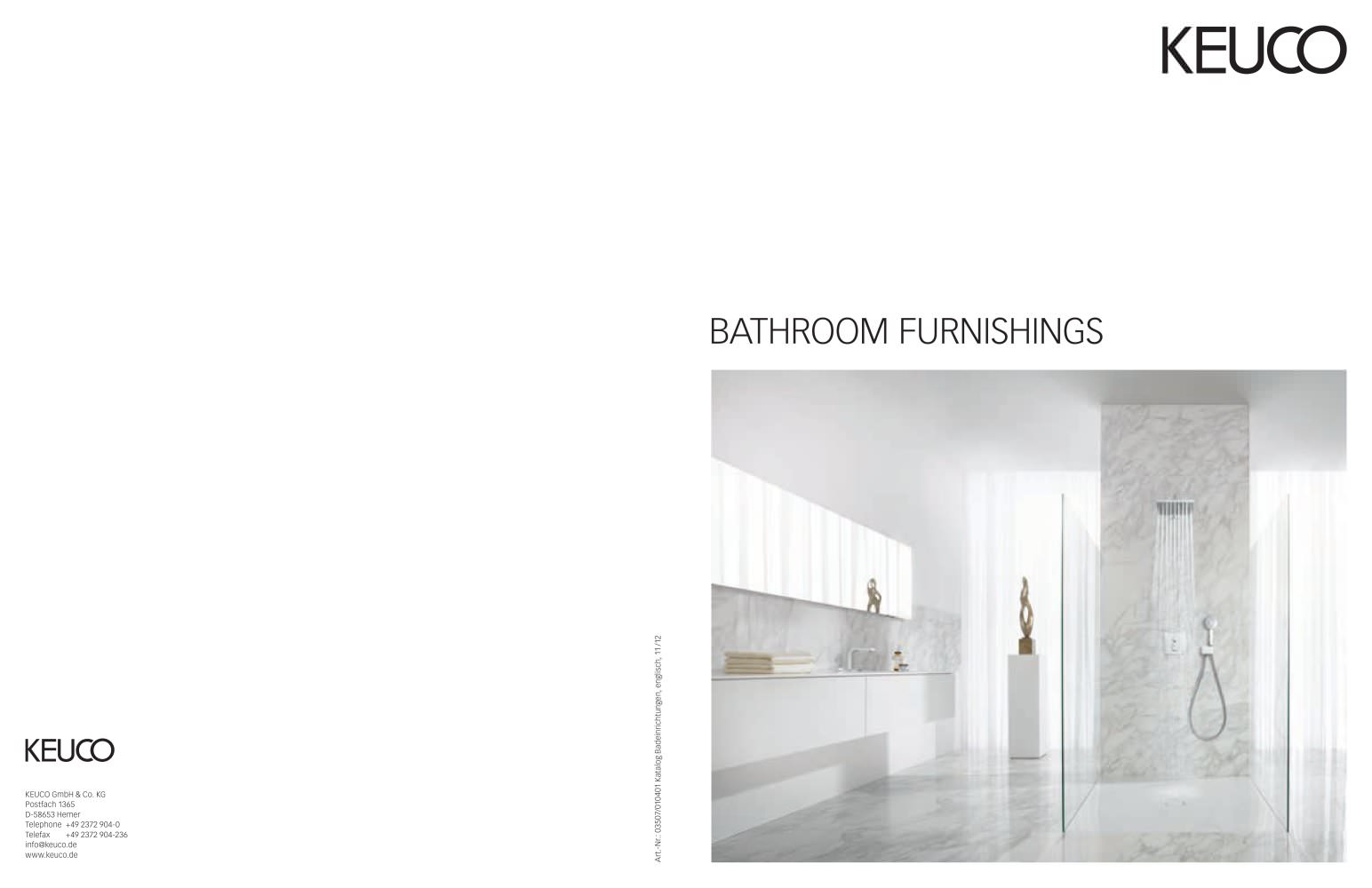 Keuco Hemer keuco bathroom furnishings keuco pdf catalogues documentation