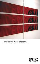 Partition wall systems