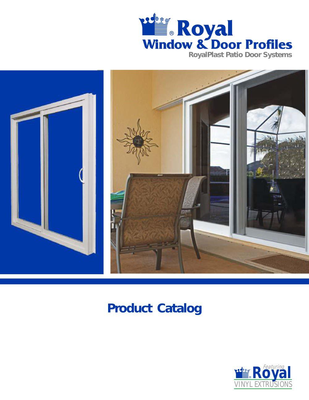 Patio Door Catalogue   1 / 8 Pages