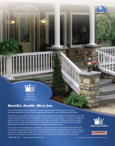 Royal Crown Railings