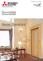 Home elevators - Series-SVB200Series-SED200
