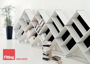 Fitting Pure White 2011 : the bookcase