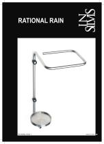 Insilvis RATIONAL RAIN, wall mounted umbrella rack