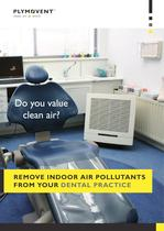 Remove indoor air pollutants from your dental practice