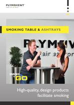 Smoking table & ashtrays