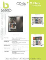 Bartech 70 Lt automatic minibar specifications
