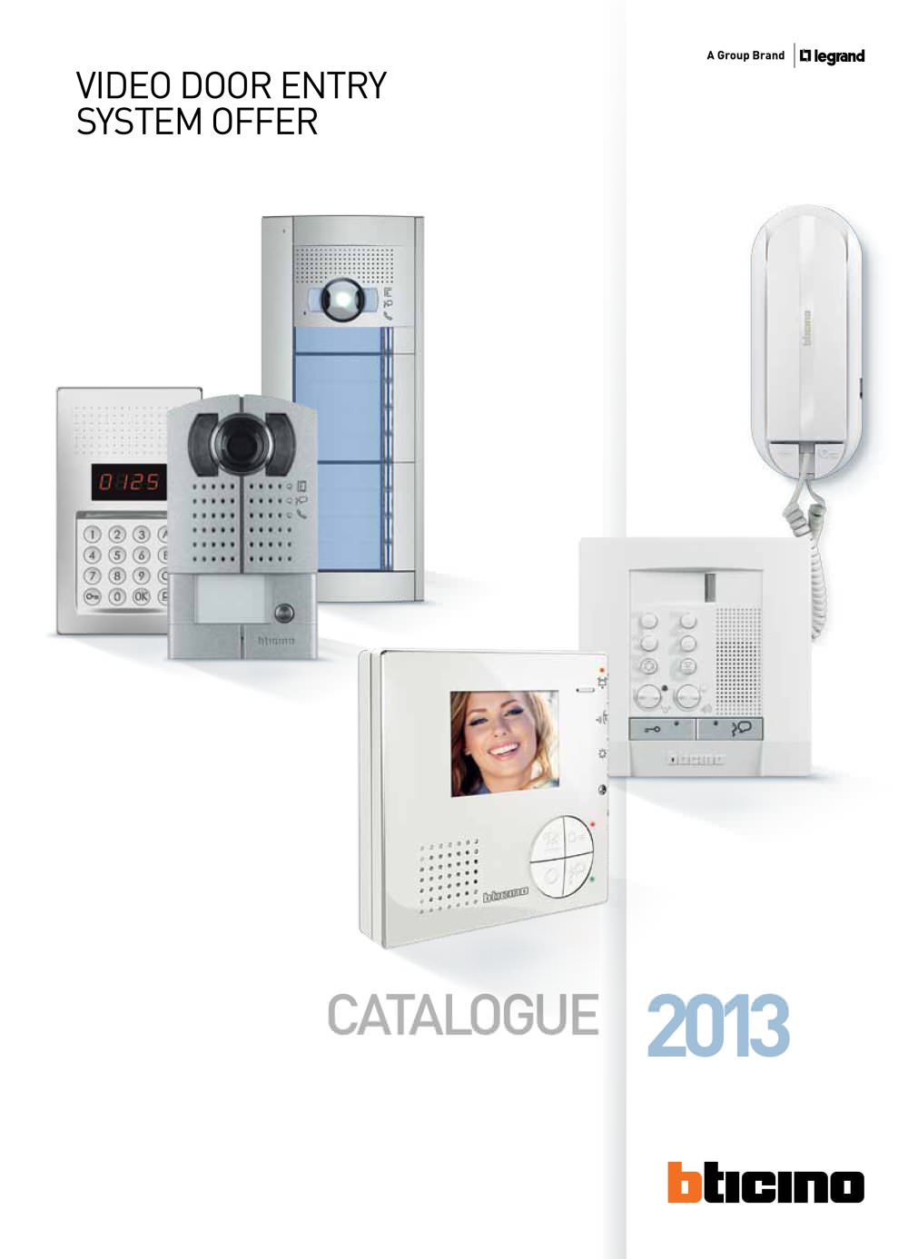Video Door Entry System Offer Bticino Pdf Catalogues
