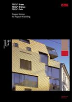 Copper Alloys for Façade Cladding