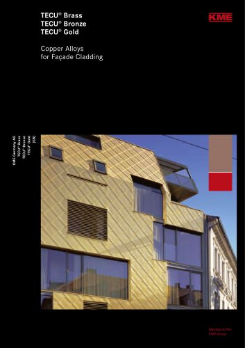Copper Alloys for Fa&ccedil;ade Cladding