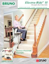 Electra-Ride II: Straight-Rail Stairlifts